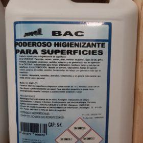 JEMI BAC higienizante superficies